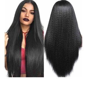 Kinky Yaki Straight Lace Front Wig